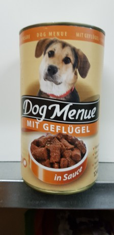 Dog menü 1250G: 350Ft